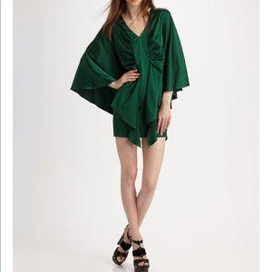 NWT silk Haute Hippie Mini silk dress